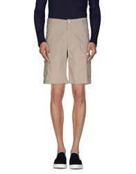 Armani Jeans Trousers Bermuda Shorts Men Beige