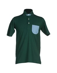 Jacob Cohen Jacob Coh N Topwear Polo Shirts Men Green