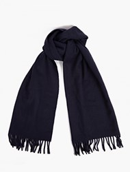 A.P.C. Navy Wool Scarf