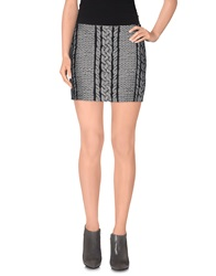Viktor And Rolf Mini Skirts Grey