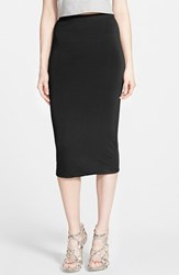 Women's Leith Double Layered Tube Skirt Black
