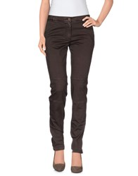 Incotex Red Trousers Casual Trousers Women Dark Brown