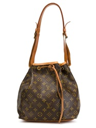 Louis Vuitton Vintage 'Petit Noe' Shoulder Bag Brown