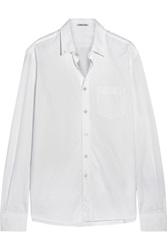 Tomas Maier Printed Cotton Poplin Shirt