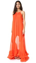 Alexis Gracie Gown Red Orange