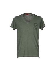 Joe Rivetto T Shirts Military Green