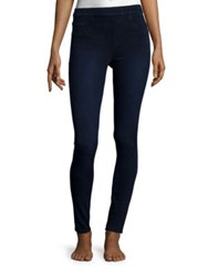 Spanx Jean Ish Leggings Blue