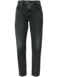 Diesel High Waisted Jeans Black