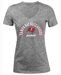 5Th And Ocean Women's Tampa Bay Buccaneers Checkdown Le T Shirt Black