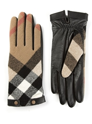 Burberry London 'House Check' Gloves Black
