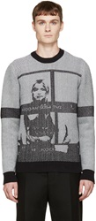 Opening Ceremony Black And White Contact Sheet Crewneck