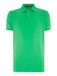 Rlx Ralph Lauren Performance Solid Polo Green