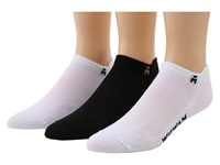Wigwam Lightning Pro 3 Pack White White Black Low Cut Socks Shoes