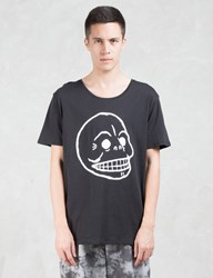 Cheap Monday Scoop Skull T Shirt