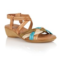 Lotus Luxa Open Toe Sandals Natural