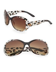 Sam Edelman 57Mm Oval Sunglasses Brown