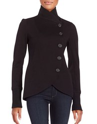 Bailey 44 Britto Button Front Knit Jacket Black