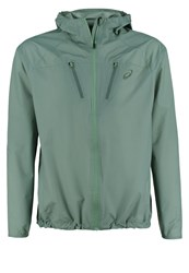 Asics Sports Jacket Eucalyptus Green