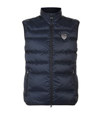 Armani Ea7 Down Quilted Gilet Male Navy