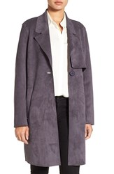Kenneth Cole Women's New York Sueded Trench Coat