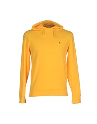 Cycle Topwear Sweatshirts Men Ocher