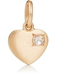 Irene Neuwirth Women's White Diamond Accented Heart Pendant Colorless