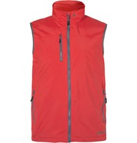 Musto Sailing Sardinia Br1 Waterproof Canvas Gilet Red