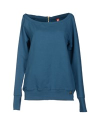 Met Topwear Sweatshirts Women Black