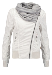 Khujo Jewel Summer Jacket Offwhite Off White