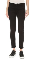 The Great. The Skinny Army Pants True Black