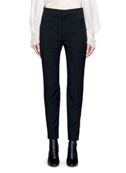 Chloe Zip Cuff Cady Pants Black