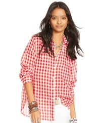 Denim And Supply Ralph Lauren Checked Utility Shirt