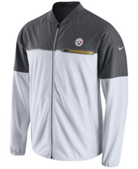 Nike Men's Pittsburgh Steelers Flash Hybrid Jacket White Anthracite