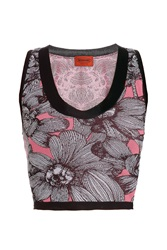 Missoni Cropped Floral Print Top