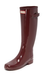 Hunter Original Refined Gloss Boots Dulse