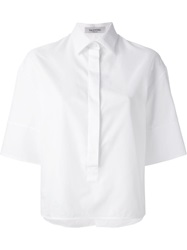 Valentino Boxy Fit Shirt White