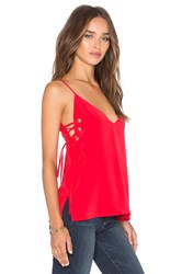 Amanda Uprichard Robin Tank Red