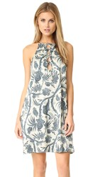 Zimmermann Adorn Tie Up Shift Dress Bird Chintz