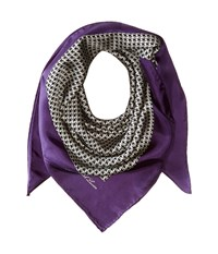 Lauren Ralph Lauren Tessa Purple Scarves