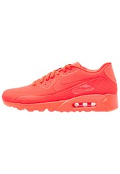 Nike Sportswear Air Max 90 Ultra Moire Trainers Bright Crimson White Neon Pink