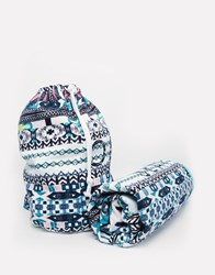 Seafolly Moroccan Blanket And Beach Bag Multi