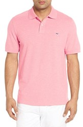 Vineyard Vines Men's Slim Fit Pique Polo Cotton Candy