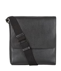 Mulberry Maxwell Slim Messenger Grain Leather Bag Black