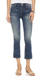 Mother The Insider Crop Jeans Double Trouble