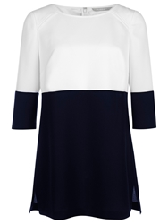 Planetcolour Block Tunic Dress Multi Blue