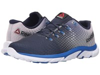 Reebok Zstrike Elite Collegiate Navy Pure Silver Blue Sport Men's Running Shoes
