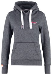 Superdry Hoodie Eclipse Navy Jaspe Dark Blue