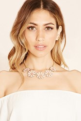Forever 21 Flower Statement Necklace