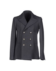 Brian Dales Coats And Jackets Coats Men Steel Grey