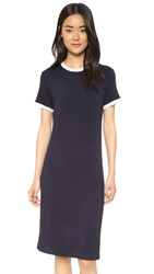 The Fifth Label In A Vision Dress Navy Light Grey